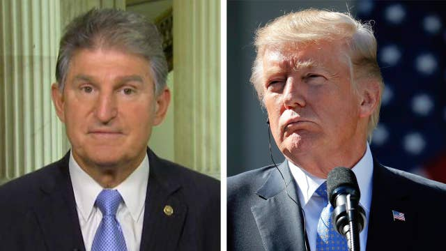 Manchin: I hope to work with Trump on tax reform that works