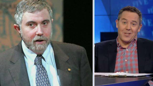 Gutfeld: Krugman deserves prize for being wrong about Trump