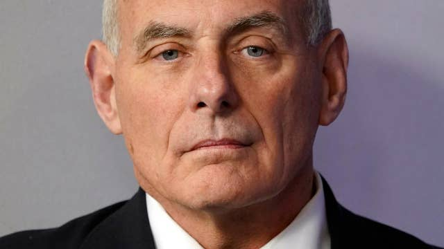 Kelly denounces criticism of Trump's condolence call