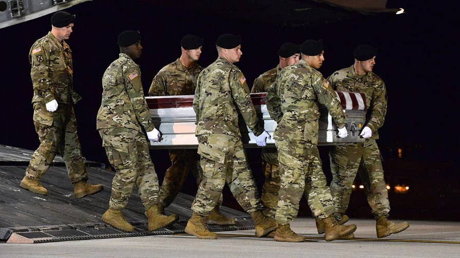 Controversy intensified in the wake of President Trump's comments after the death of four Green Beret soldiers in Niger; insight from Howard Kurtz, Fox News media analyst and host of 'MediaBuzz.'