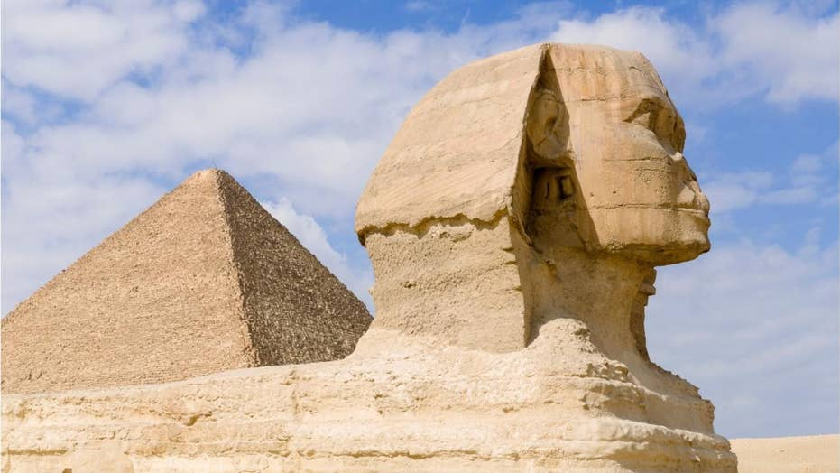 Volcanoes wiped out ancient Egyptian empire