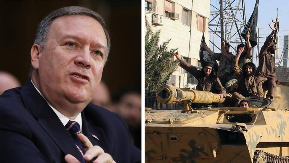 Pompeo: ISIS threat remains despite caliphate near collapse