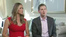Ainsley Earhardt of 'Fox & Friends' sits down with the new parents at their home.