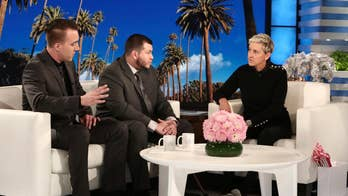 Ellen's interview yielded no answers about the disputed timeline in the Las Vegas massacre, and MGM owns Mandalay Bay and operates Ellen-themed slot machines. Why is Jesus Campos speaking only to Ellen? #Tucker