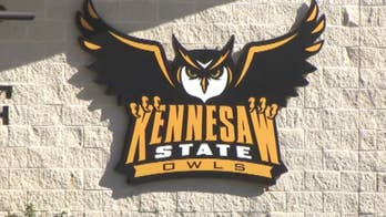 Texts between two elected officials indicate they pressured Kennesaw State University president to keep the protesting cheerleaders off the field until the national anthem was played.