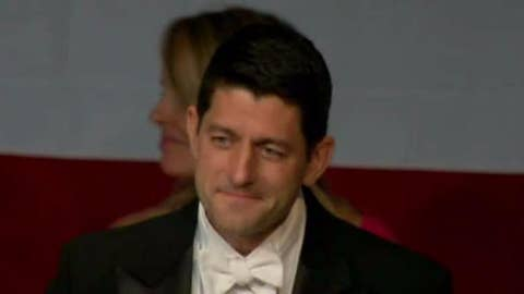 Paul Ryan takes jabs at Trump, Schumer at Al Smith Dinner