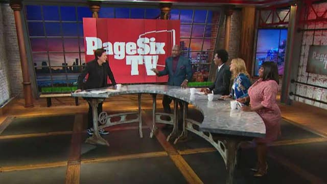 In the Foxlight goes behind the scenes with 'Page Six TV'