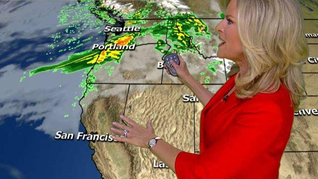 National forecast for Friday, October 20