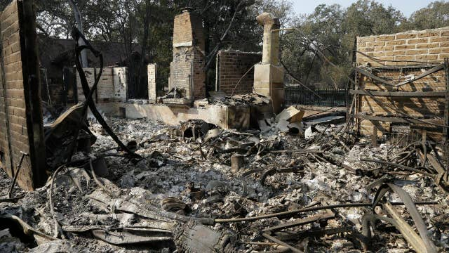 Damage tops $1 billion in northern California wildfires