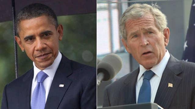Obama, Bush 43 seem to criticize Trump without naming him