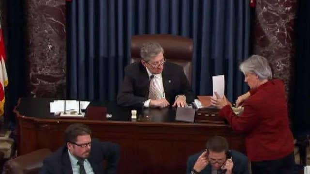 Senate budget passage lays groundwork for tax reform