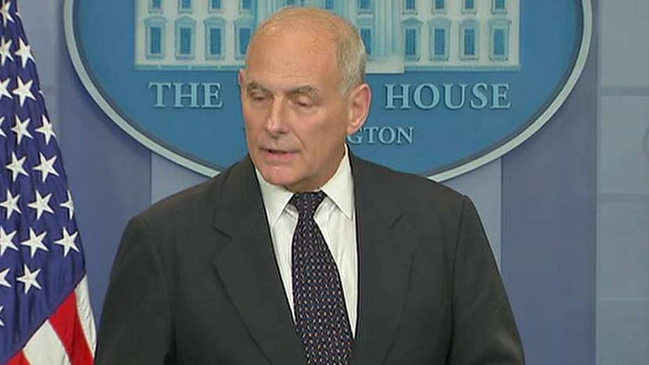 Kelly defends President Trump's call to Green Beret widow