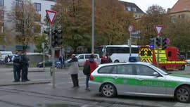 A man with a knife attacked four people in Munich on Saturday and then fled, police said. A suspect was arrested a few hours later, and authorities were working to determine whether he was the assailant.
