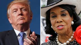 "President Trump on Sunday turned his criticism of Democratic Rep. Frederica Wilson into a 2018 elections platform, saying the 'wacky"" congresswoman is disastrous for Democrats and to vote for Republicans."