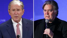 Bannon slams former President Bush as most 'destructive' president in ongoing attack to GOP establishment