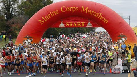 30,000 expected to run Marine Corps Marathon