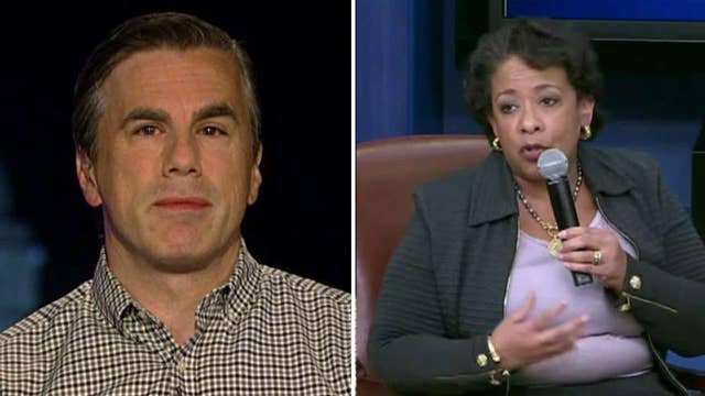 Fitton on Loretta Lynch's meeting with House investigators