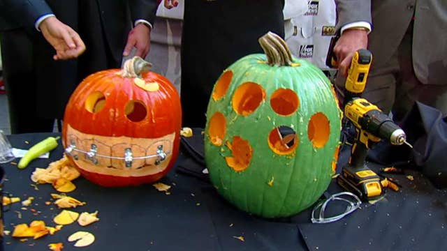 After the Show Show: Pumpkin carving