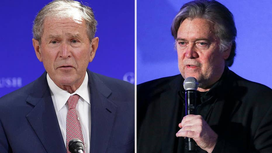 Steve Bannon blasts President George W. Bush