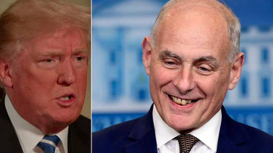 Trump: Gen. Kelly does his job for the country, not himself