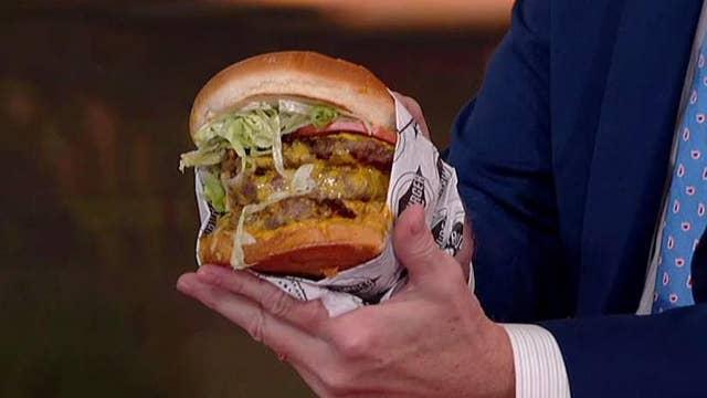 'Fox & Friends' hosts take the Fatburger XXXL Challenge