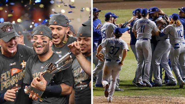 Houston, Los Angeles gearing up for World Series face-off
