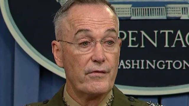 Gen. Dunford briefs reporters on deadly ambush in Niger