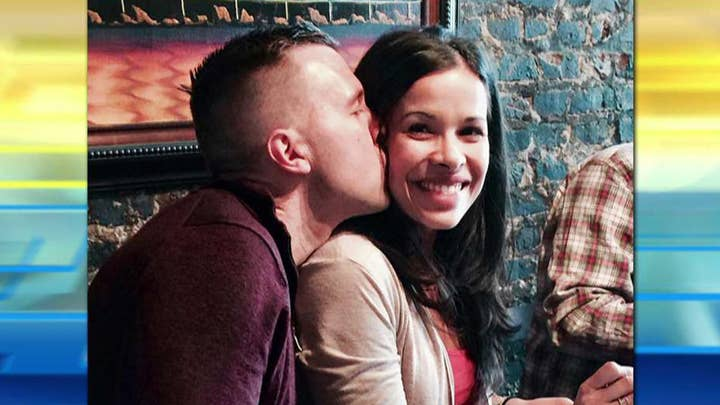 Dad shares touching story on the importance of kissing his wife