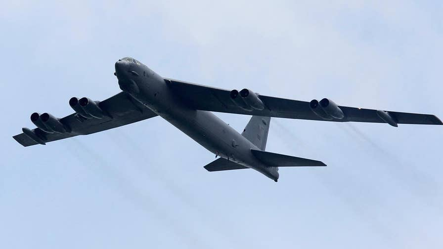Greg Palkot reports from London on what the Air Force is saying about its fleet of nuclear-armed B-52 bombers.
