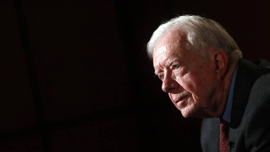 President Jimmy Carter, the 39th President of the United States, came to President Trump's defense in a recent interview.  From North Korea, to racial tensions at home and the NFL national anthem controversy, Carter says Trump is often mistreated by the media.