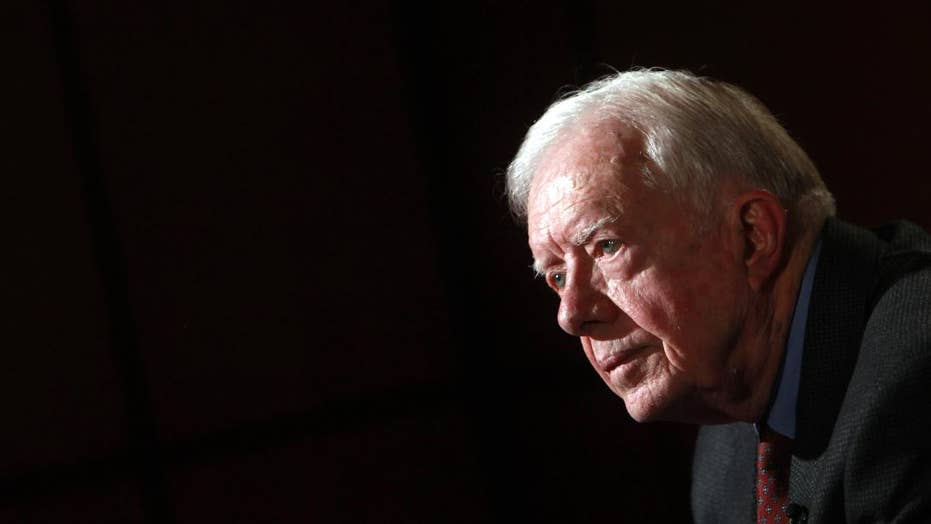 Jimmy Carter comes to President Trump's defense