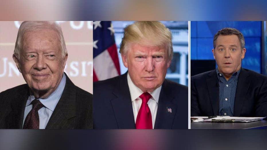 Gutfeld: Carter defends Trump against media
