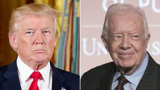 Carter calls out media on tougher treatment of Trump