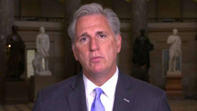 Rep. Kevin McCarthy on where tax reform stands in the House