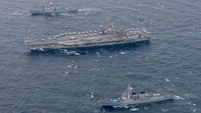 Japan defense minister backs US response to NoKo threat