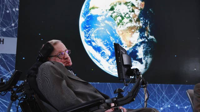 Stephen Hawking's decades-old thesis crashes website