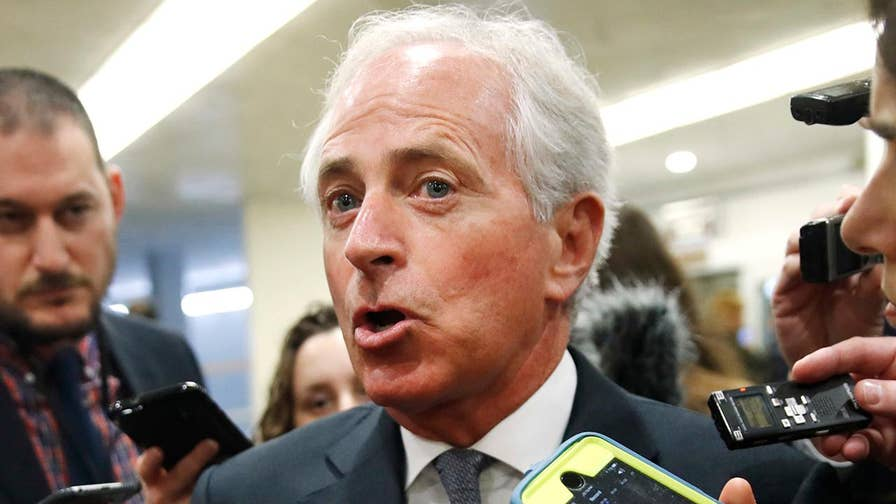 Republican senator addresses reporters on Capitol Hill; Mike Emanuel reports on the escalating tensions with the president.