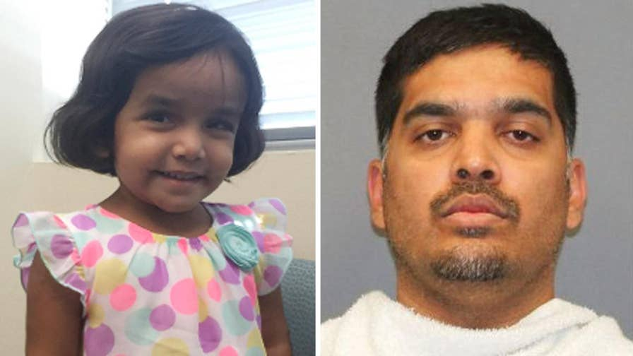 Sherin Mathews' adoptive father Wesley Mathews is being held on $1 million bail in Texas.