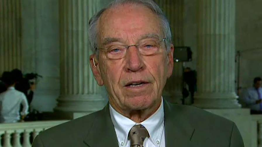 Senate Judiciary Committee chairman speaks out on 'The Story.'