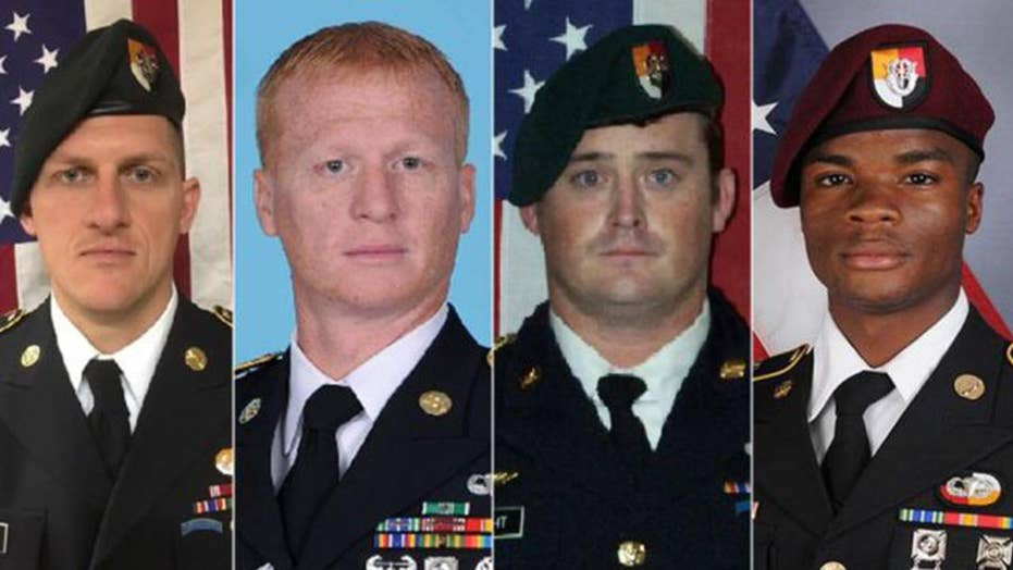 US officials release new timeline of Niger attack
