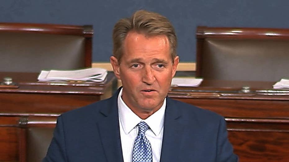 Sen. Flake announces decision not to run for re-election