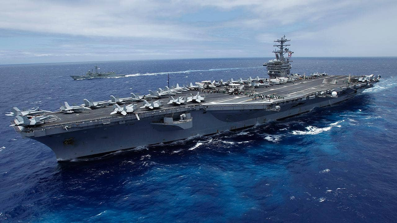 Aircraft Carrier Strike Groups In Western Pacific Ahead Of Trump - Us aircraft carriers deployment map