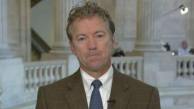Sen. Rand Paul gives his take on GOP senators opposing Trump
