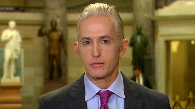 Gowdy wants to know how much FBI relied on Trump dossier