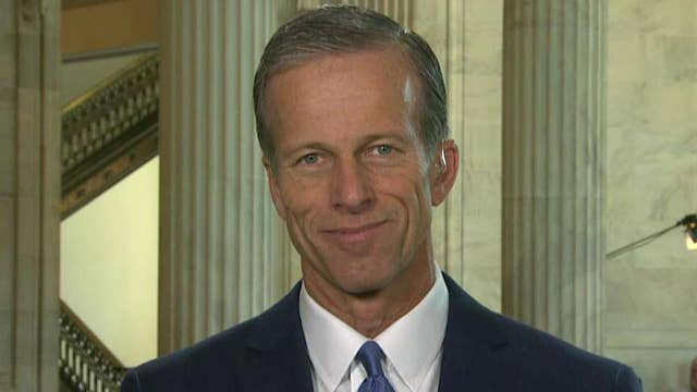Sen. Thune pleased after lunch meeting with Trump