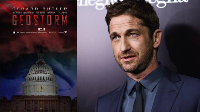 Gerard Butler's global warming movie 'Geostorm' to lose out