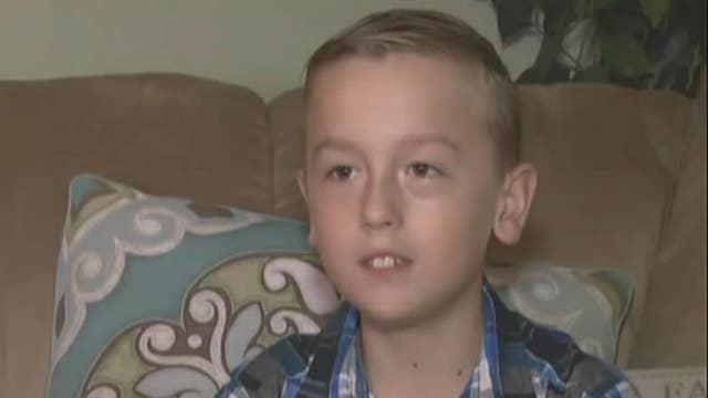 Little boy sends his allowance to President Trump