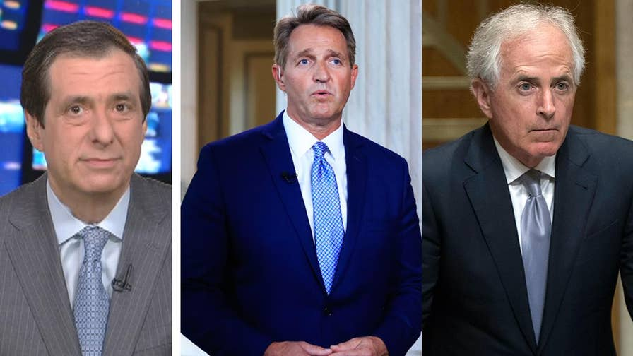 'MediaBuzz' host Howard Kurtz weighs in on the question that if Jeff Flake and Bob Corker are so appalled by Trump's conduct in office, why are they quitting?