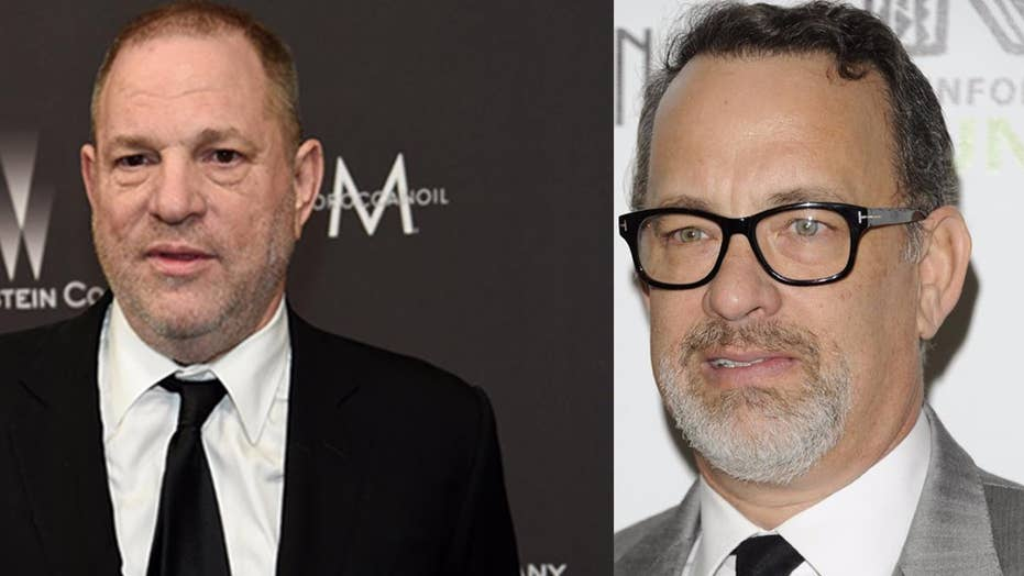 Tom Hanks speaks out on Harvey Weinstein allegations
