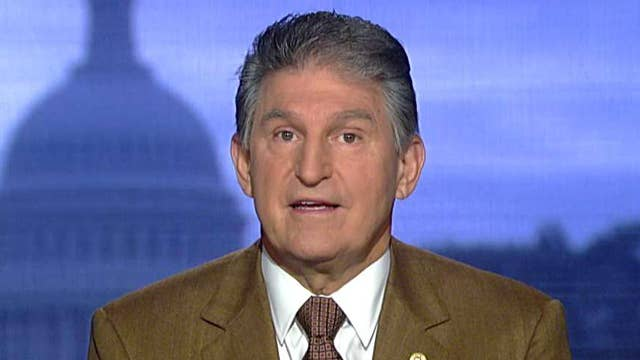 Sen. Manchin willing to work to find a balance on tax reform